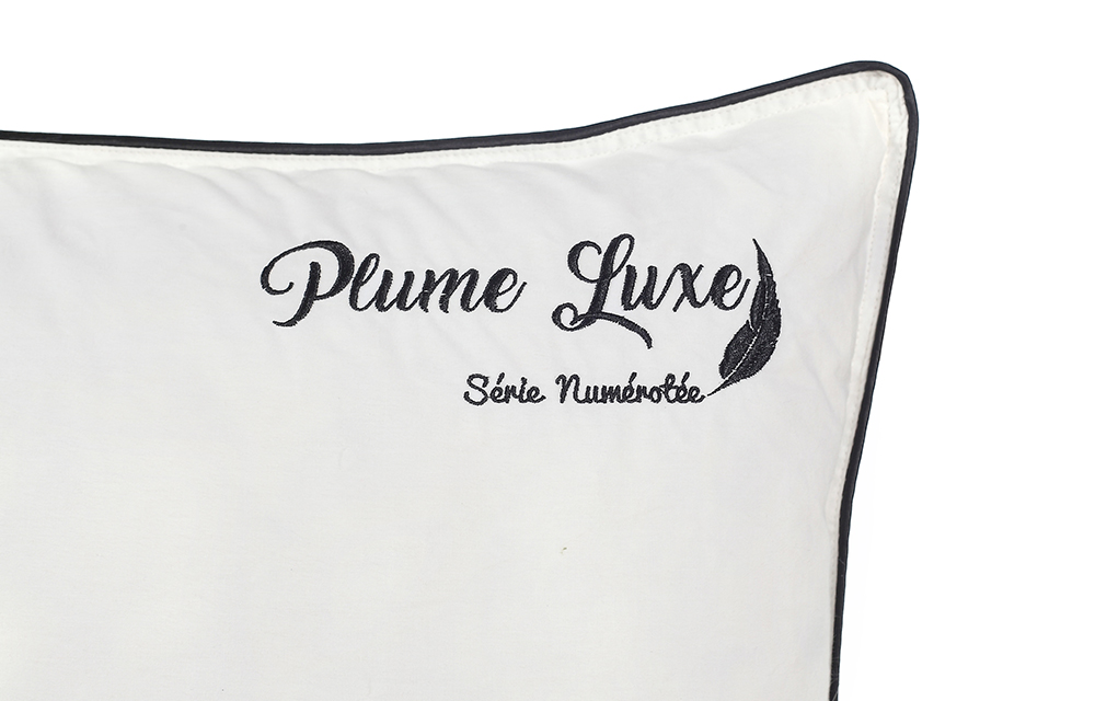 oreillers plume luxe